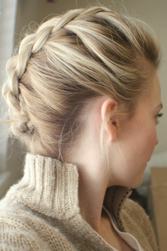 Mohawk Dutch Braid Inspired By Kate Bosworth Missy Sue