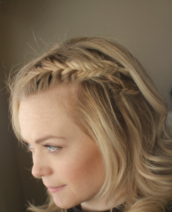 Fishtail braids inspired by carey mulligan missy sue for Fish tail hair