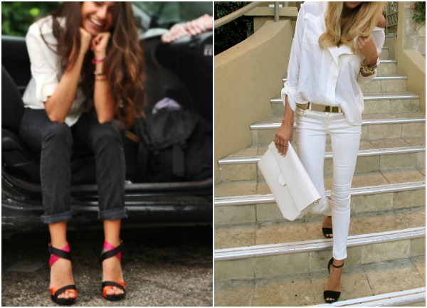 Spring Trend How To Wear Strappy High Heel Sandals