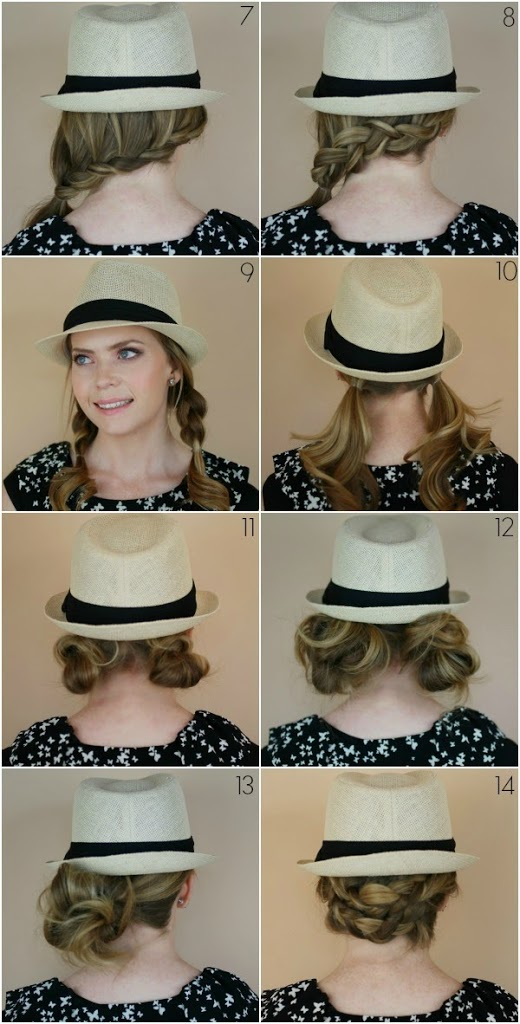 Cool 14 Hairstyles With A Fedora Missy Sue Short Hairstyles For Black Women Fulllsitofus