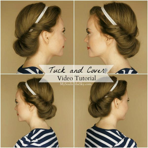 Terrific Tuck And Cover Video Tutorial Short Hairstyles Gunalazisus
