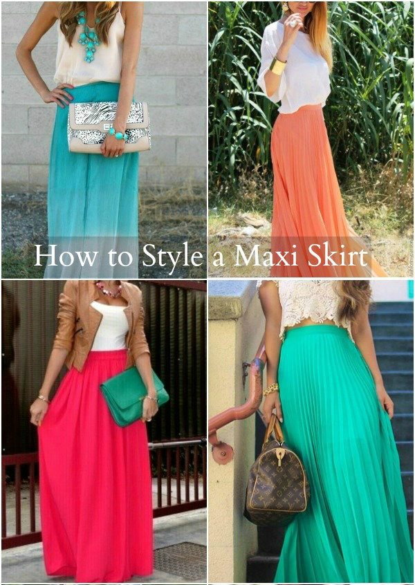 how to wear a maxi skirt missy sue