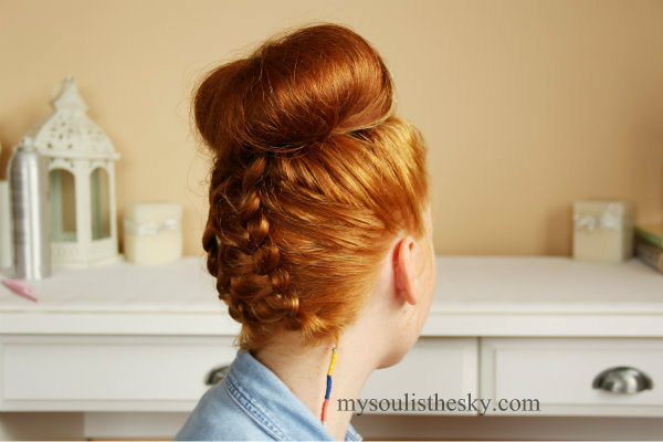 Astounding Double Dutch Braided Top Knot Missy Sue Short Hairstyles For Black Women Fulllsitofus