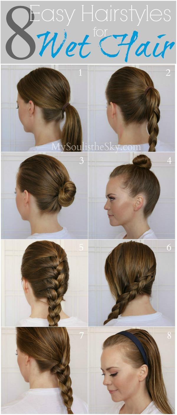 Pleasing Fast Easy Hairstyles For Long Hair Hairstyles For Women Draintrainus