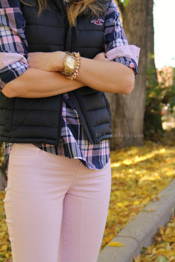 Pink J Brand Jeans