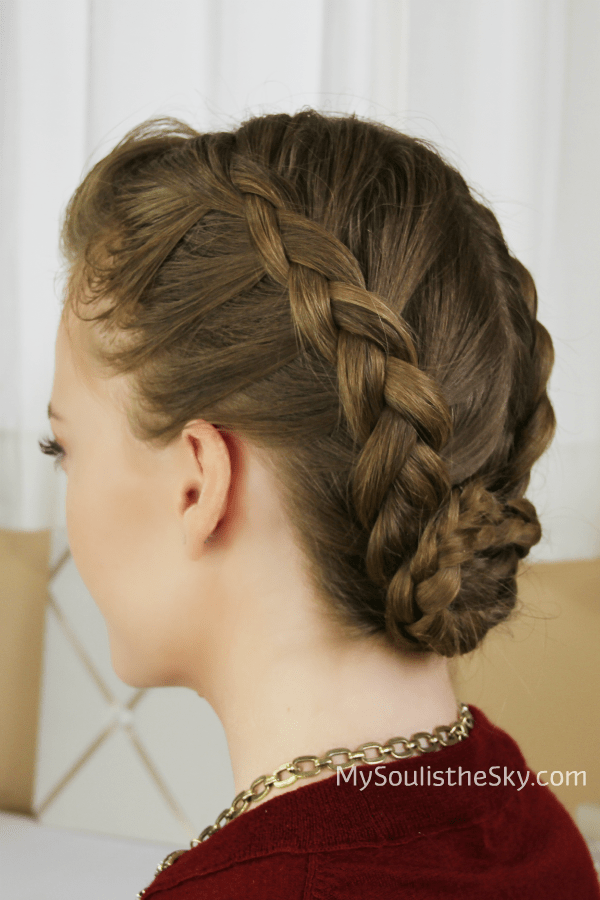 Double Dutch Braided Bun