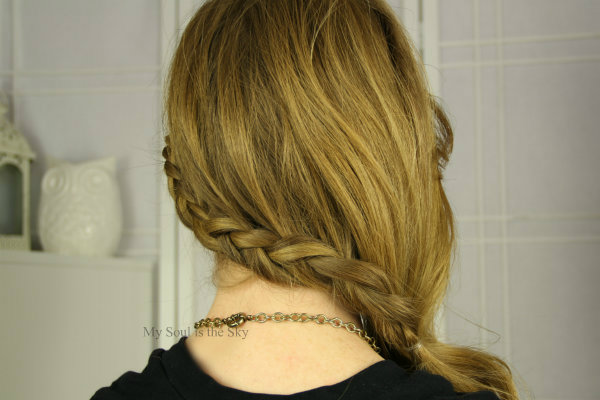 Side Swept Mini Braid 3