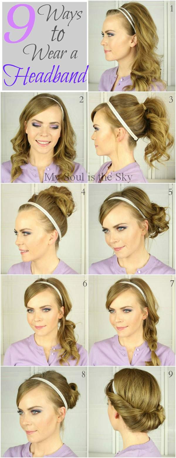 Ways to Wear a Headband 1
