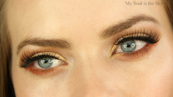 Gold Eyeshadow Styles Images