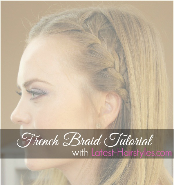 French Braid Tutorial 4