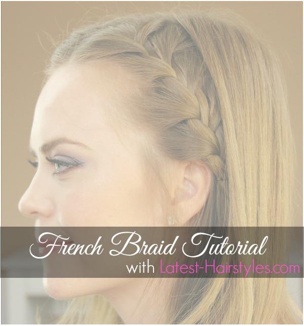 French Braid Tutorial 4
