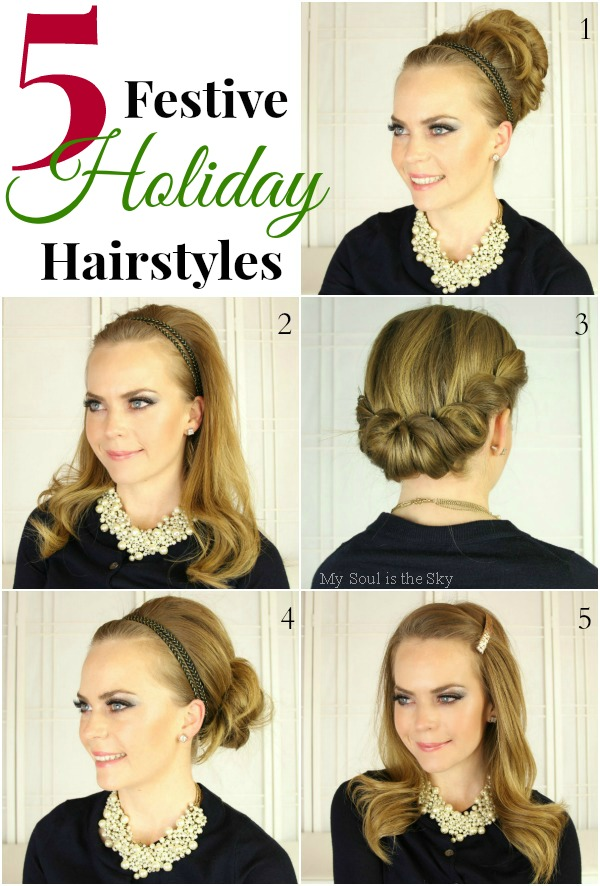 5 Holiday Hairstyles