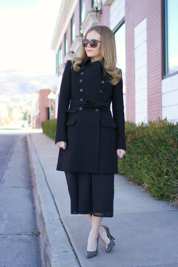 Double Button J.Crew Pea Coat