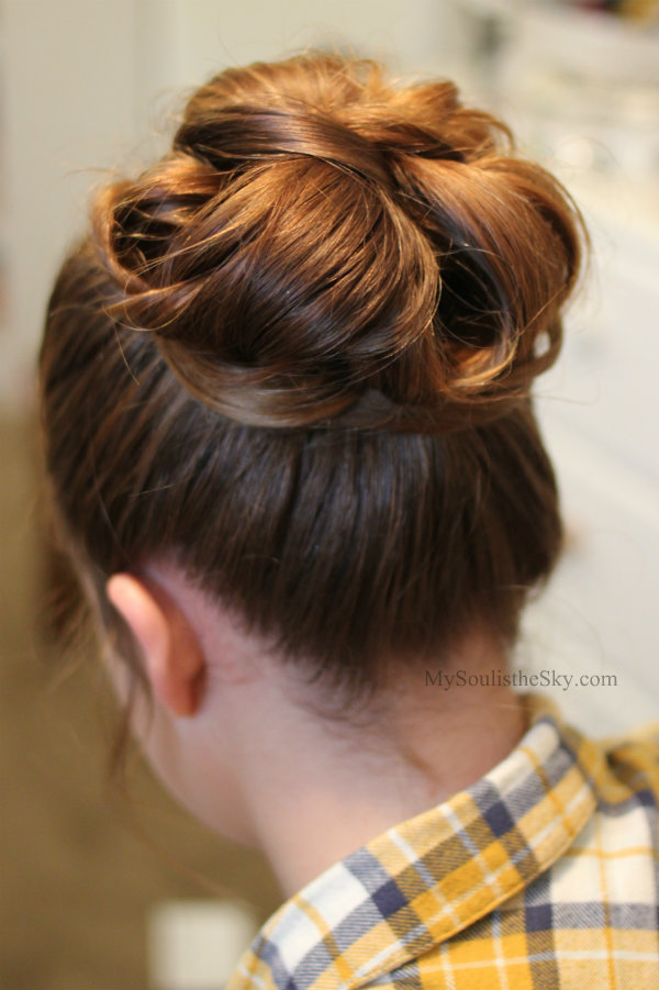 Prom Hairstyle Bun