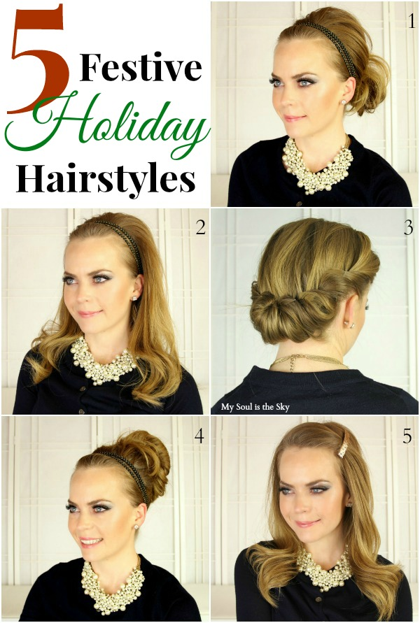 Holiday Hairstyles-