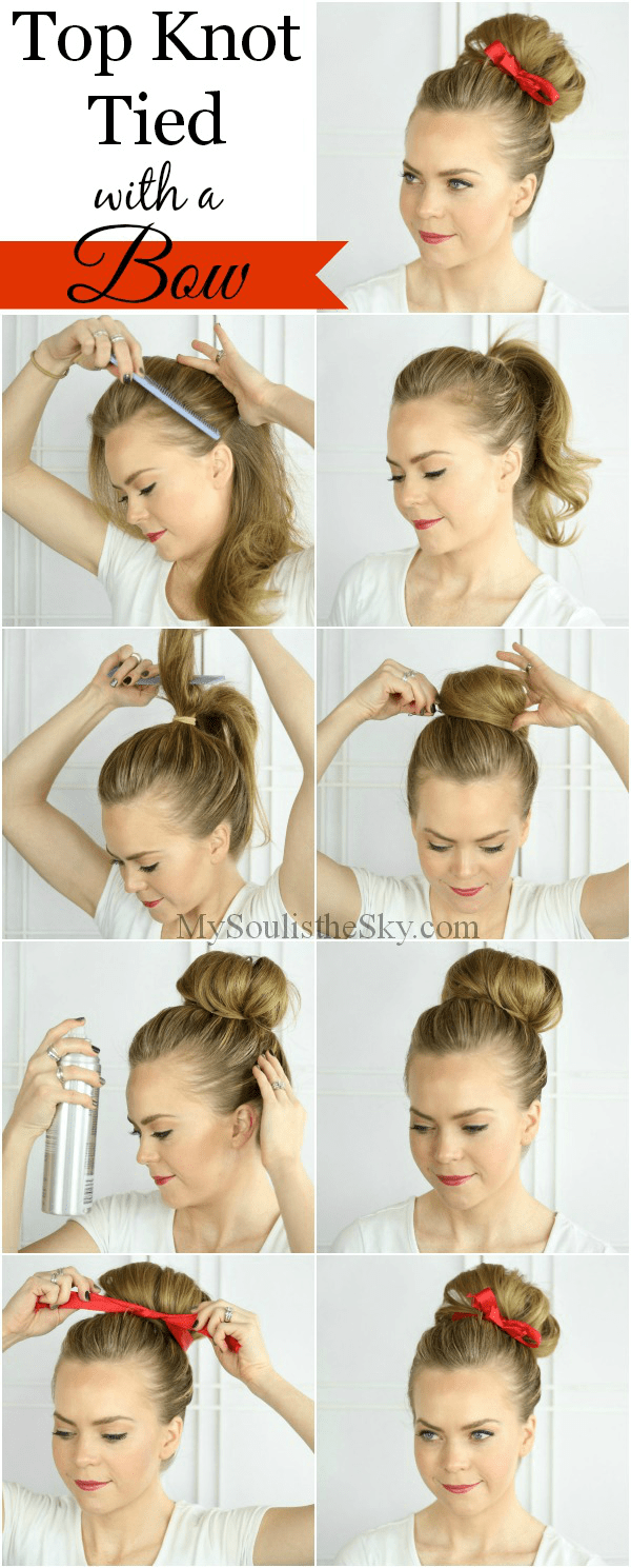 top-knot-with-a-bow