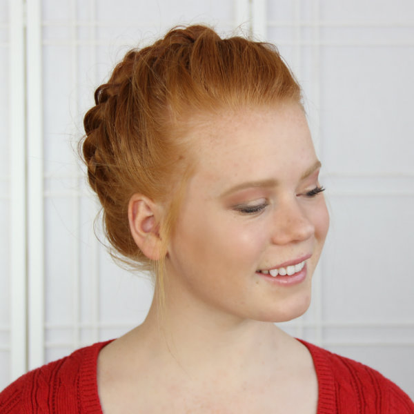 Spiral Headbraid 1