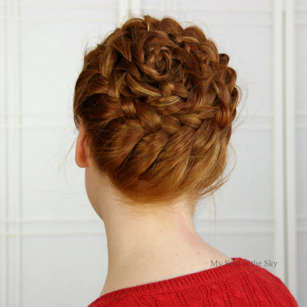 Spiral Headbraid 3