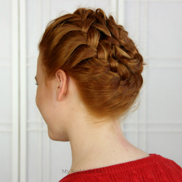 Spiral Headbraid 2