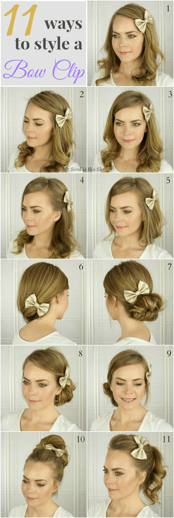 hairstyles-with-a-bow