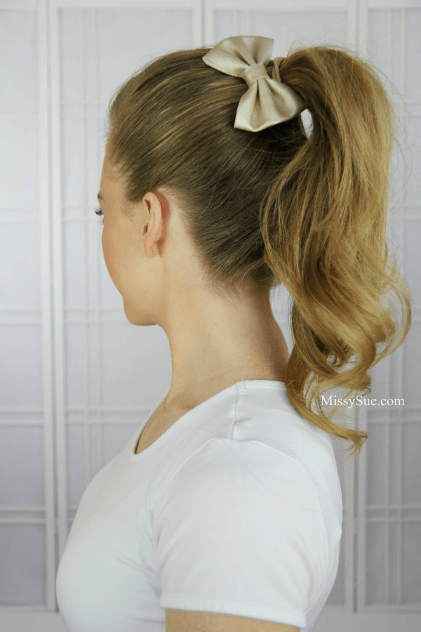 How to get a larger ponytail 13