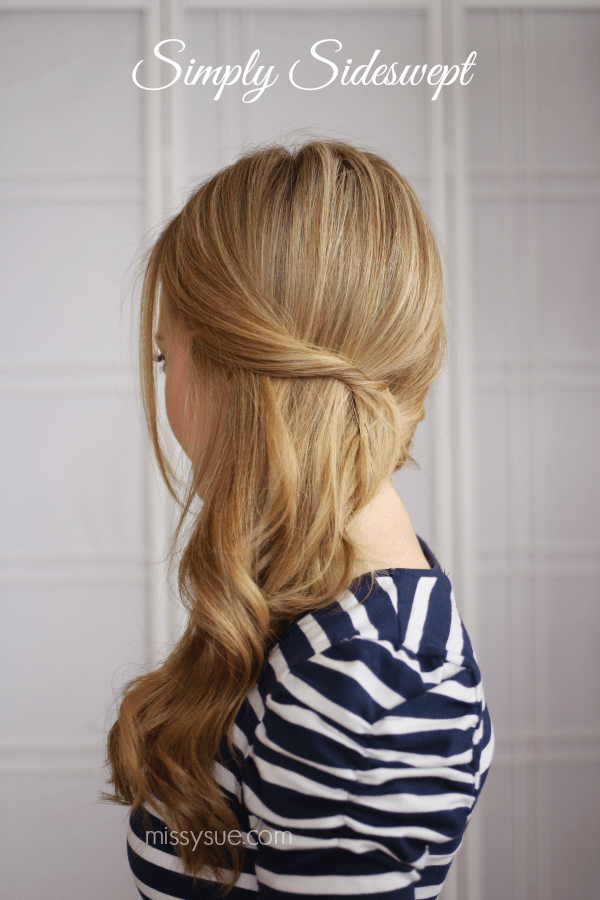 Sideswept Hairstyle 1