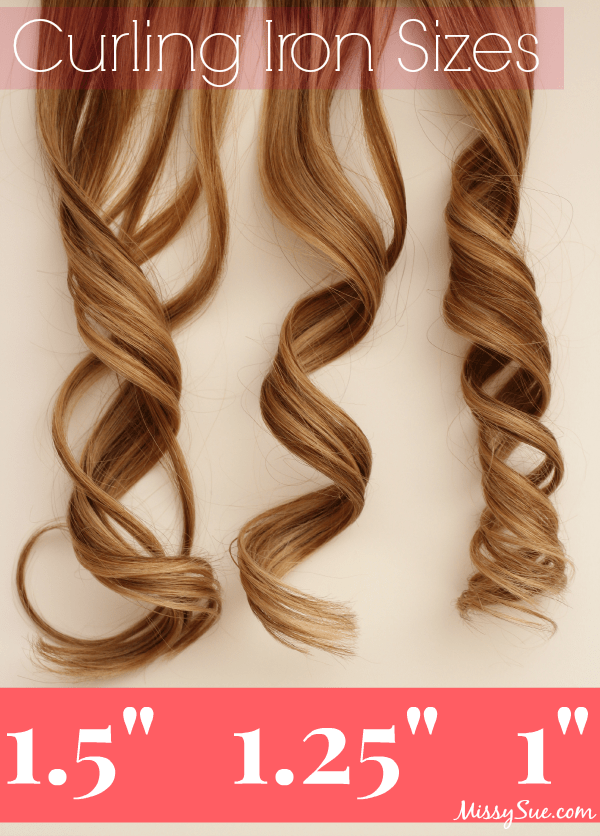 Curling Iron Sizes And Curls Images