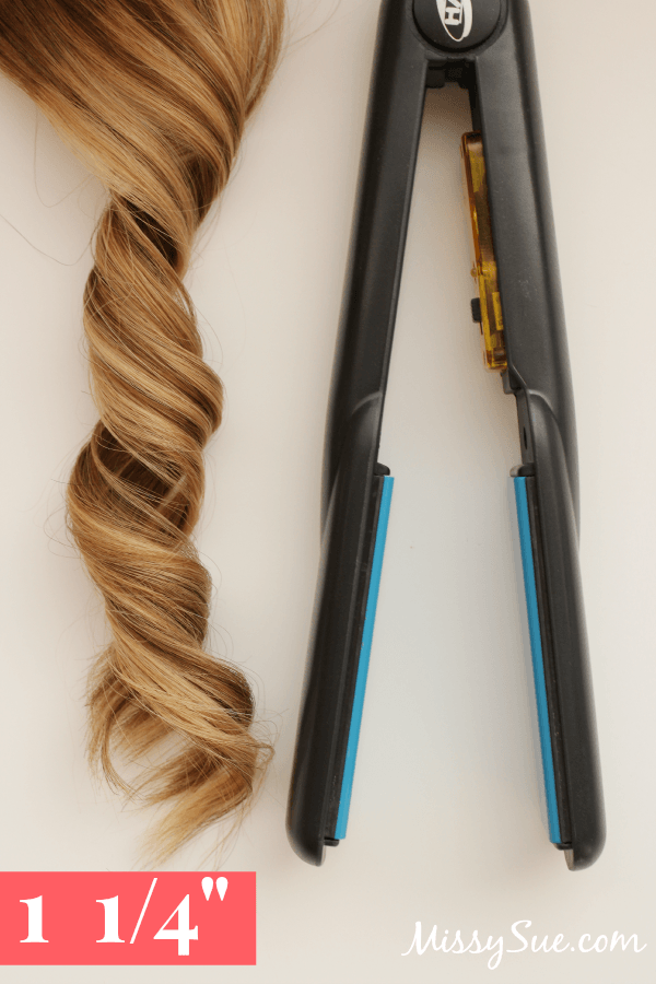 Curling Iron Sizes 1.25 flat iron