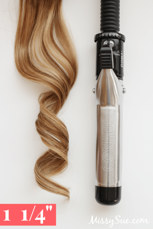 Curling Iron Sizes 1.25
