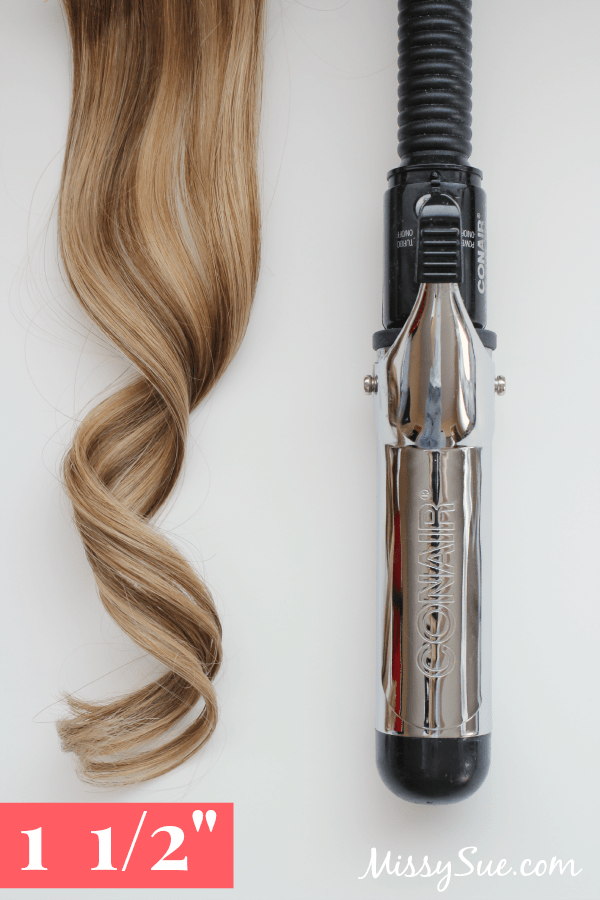 Curling Iron Sizes 1.5