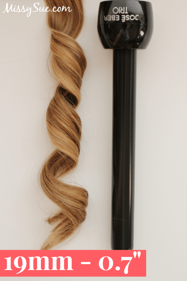 Curling Iron Sizes 19mm