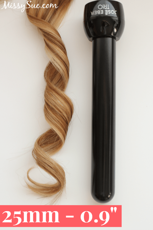 Curling Iron Sizes 25mm