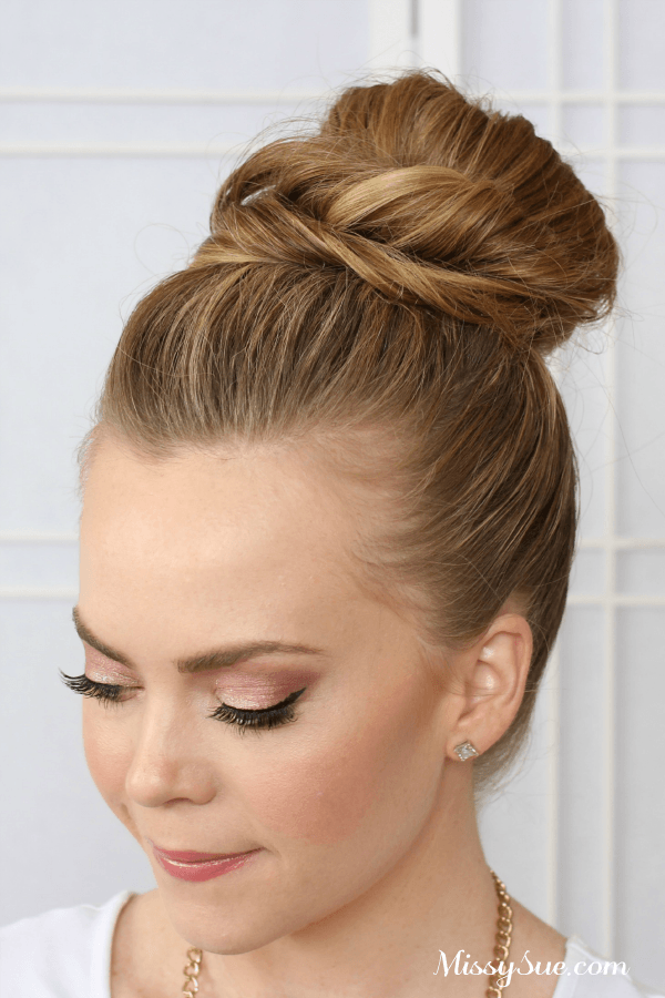 Excellent Double Bun Tutorial Missy Sue Hairstyle Inspiration Daily Dogsangcom