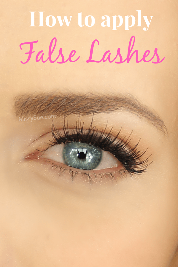 Beauty Basics: Tips for Applying False Lashes