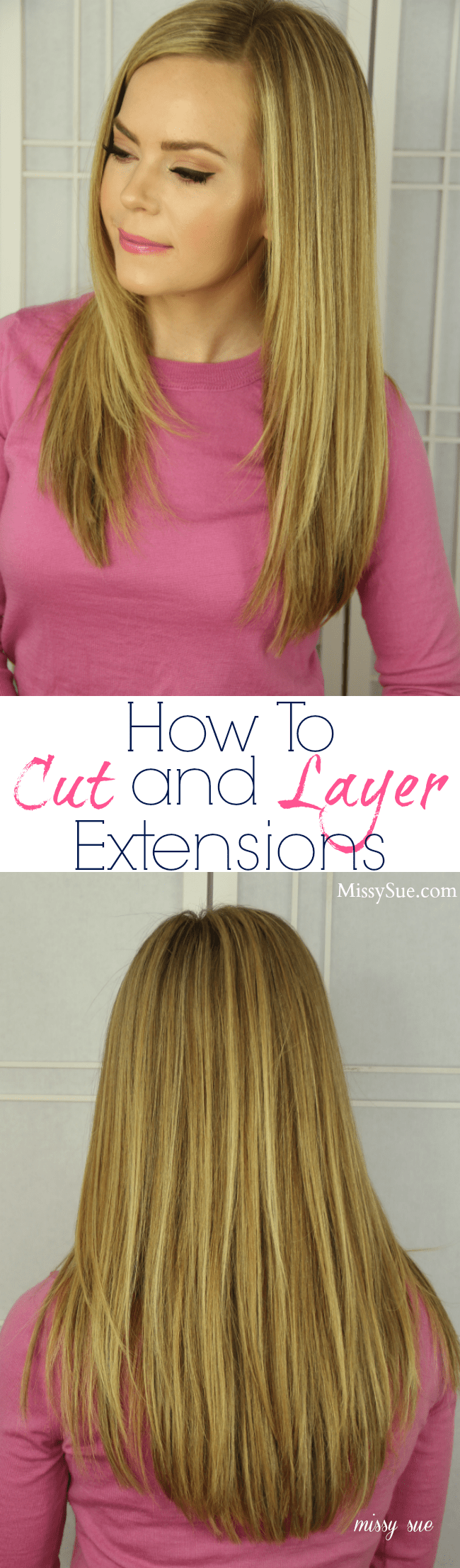 How to Cut and Layer Extensions