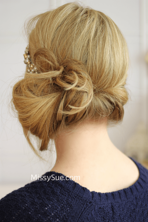 Tuck And Cover Great Gatsby Style - Diy bun cover