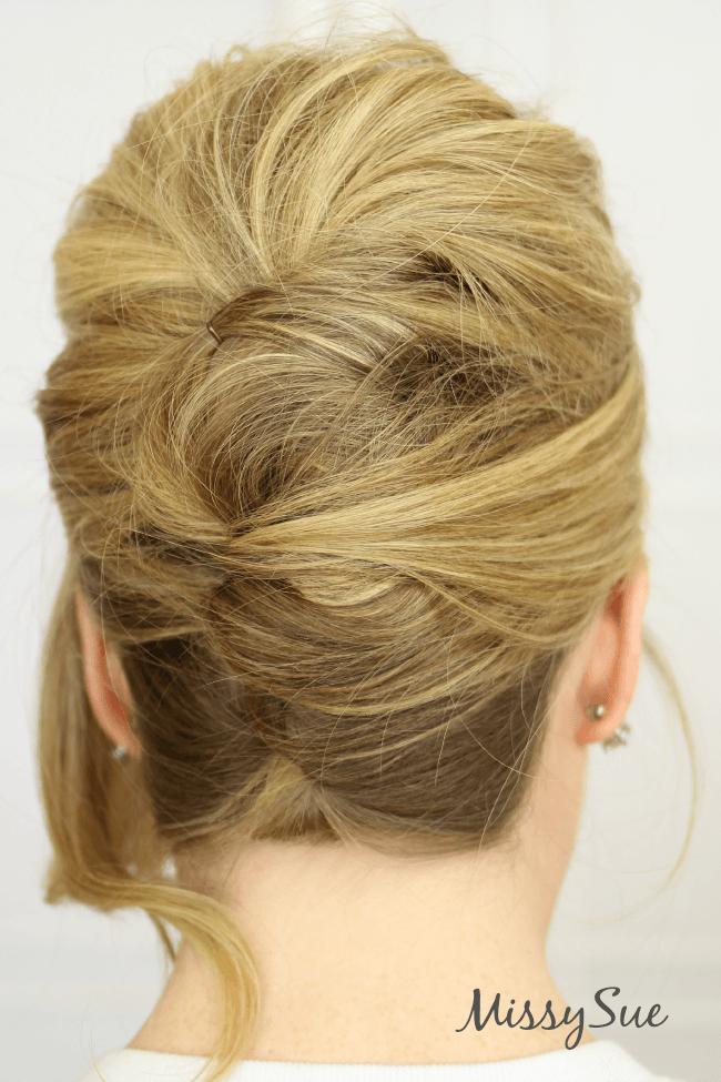 beehive-updo-hair