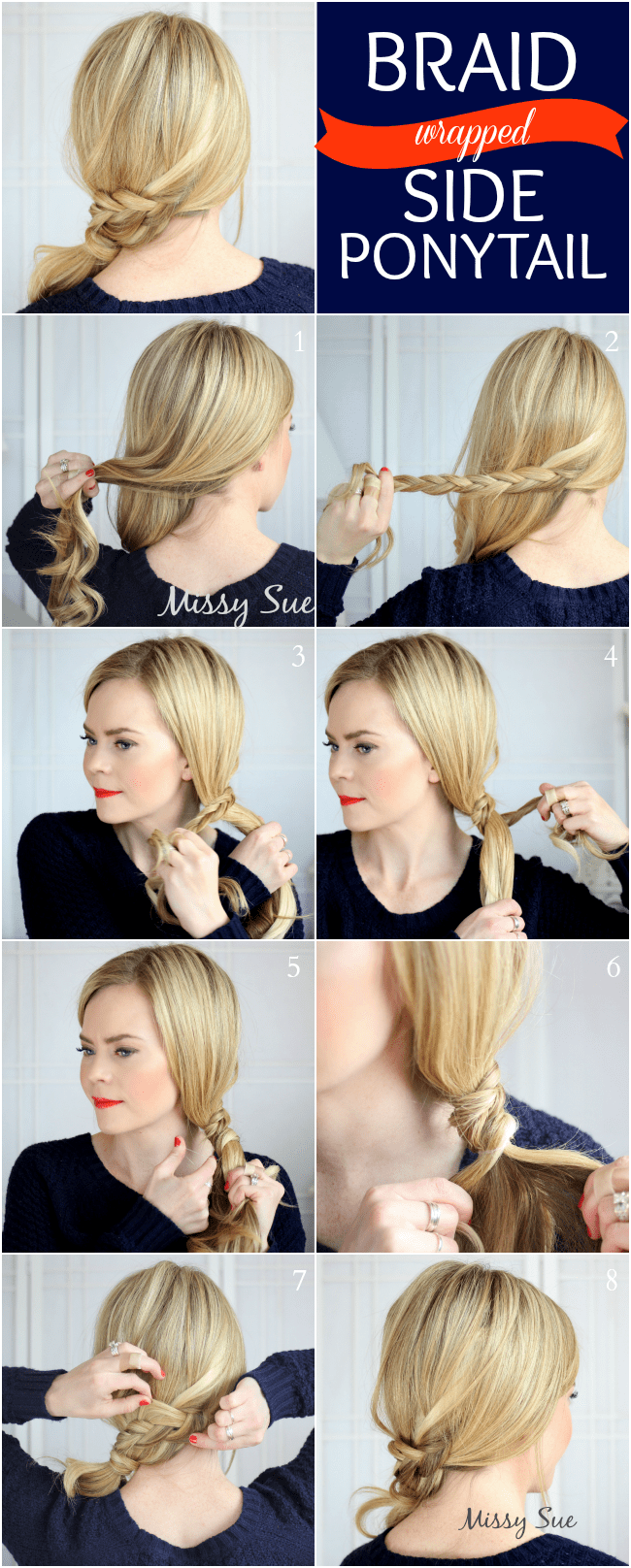 side ponytail archives | missy sue