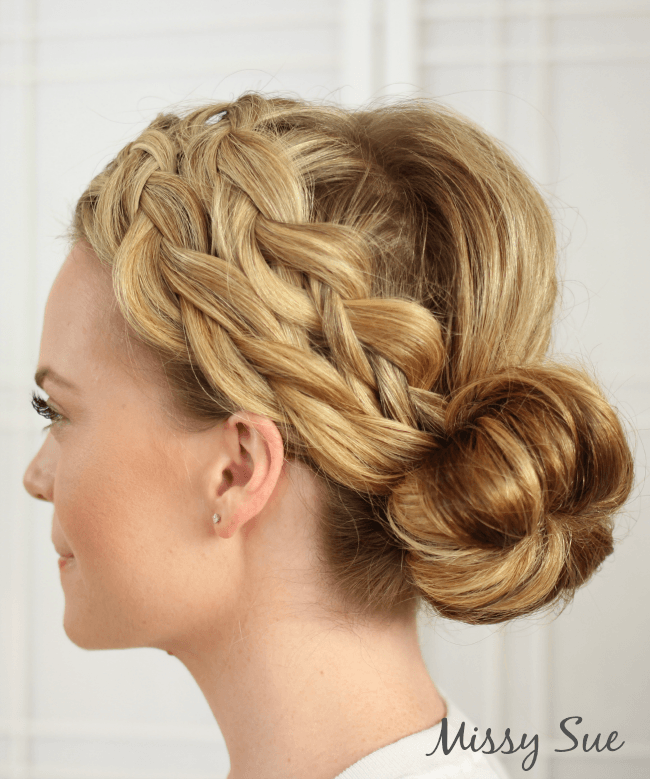 double-dutch-braided-hairstyle-with-bun