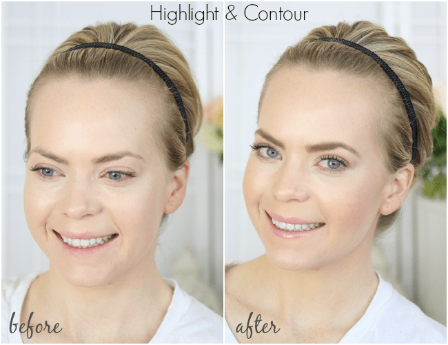 highlight-and-contour-before-after