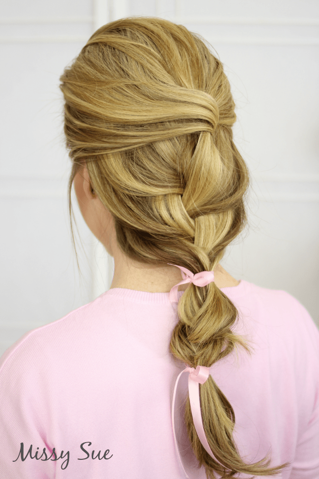 loose-french-braid-ribbons