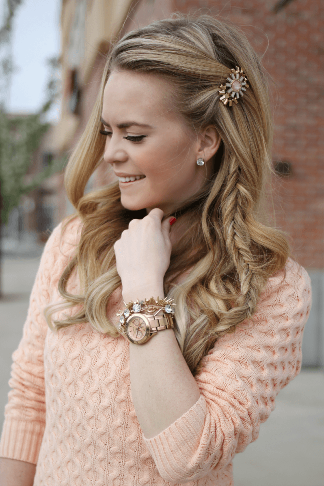 pastel-sweater-sun-hair-accessory