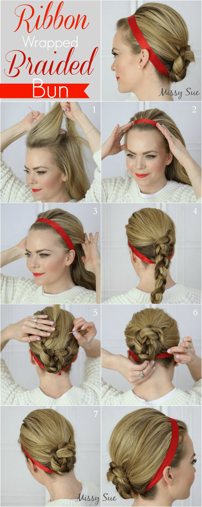 ribbon-wrapped-braided-bun-missy-sue-blog