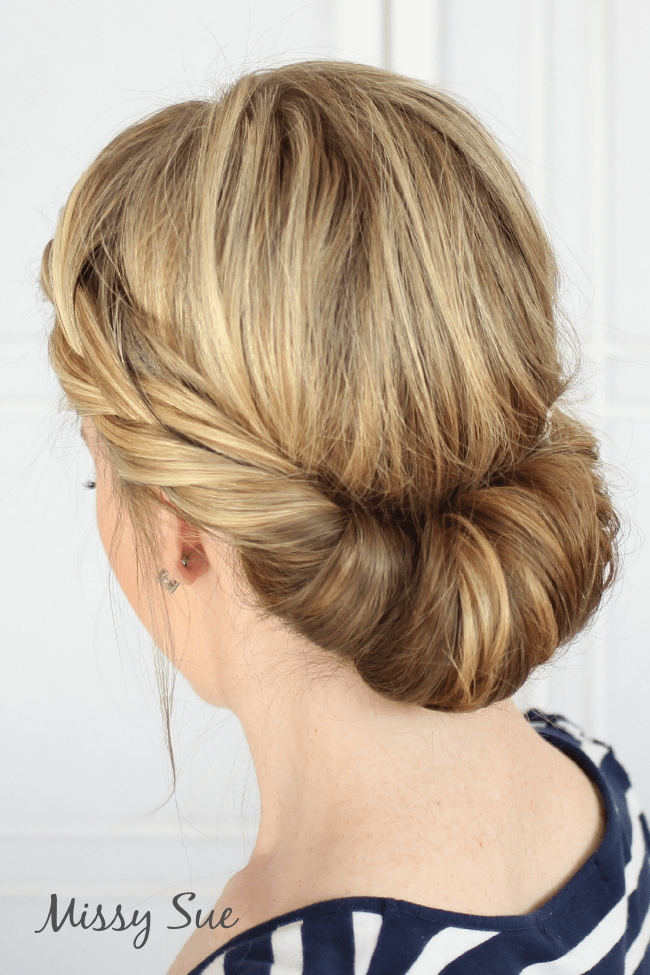 Tuck and Cover French Braid   MissySue.com