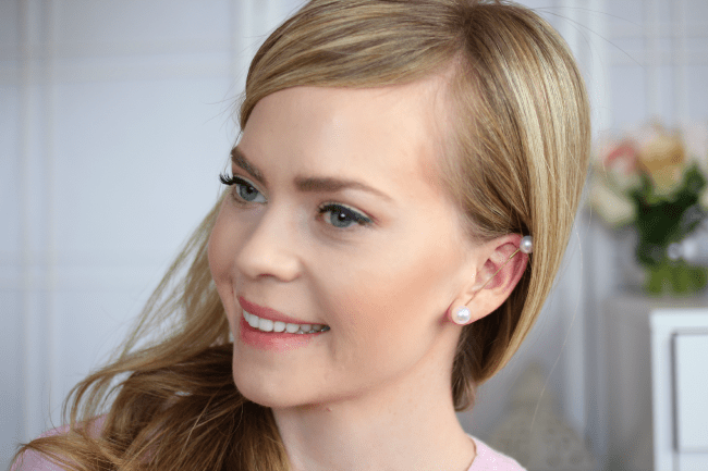 DIY Pearl Earpiece | MissySue.com