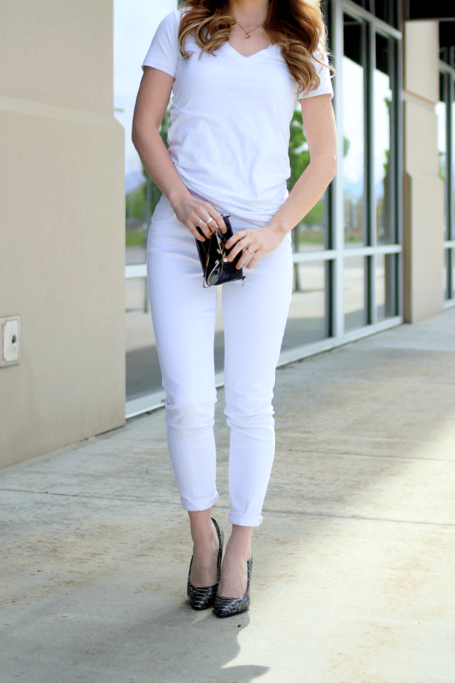 All White Outfit | MissySue.com