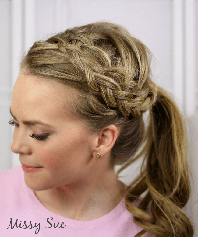 double-woven-headband-braid