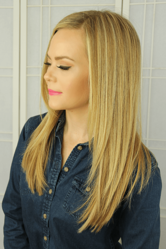 Highlighting Hair Extensions at Home | MissySue.com