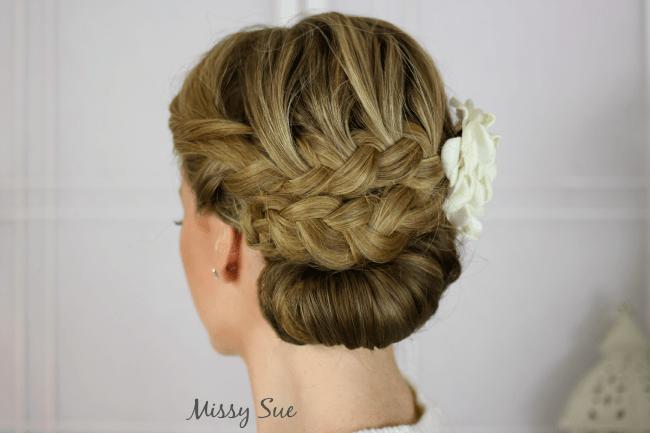 Embellished Braided Updo | MissySue.com