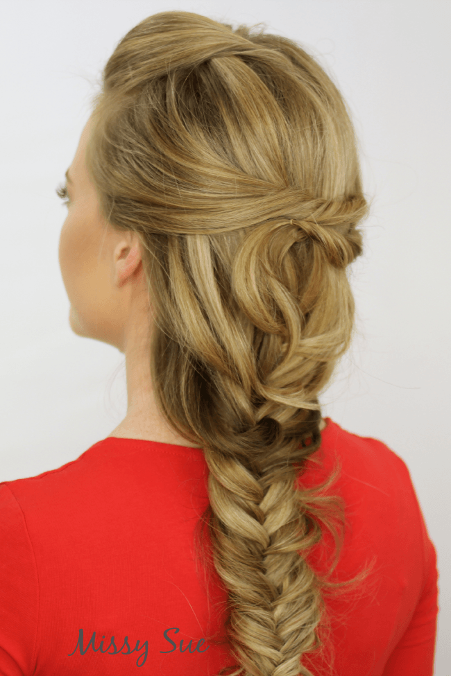 Fancy Fishtail Braid | MissySue.com